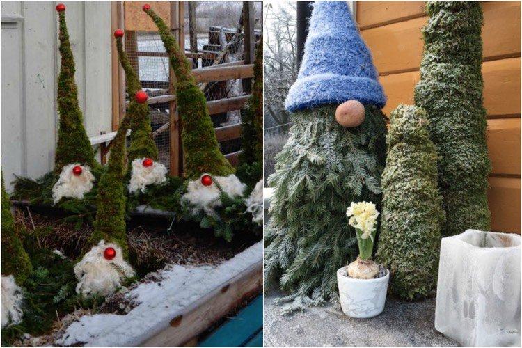 Decoration Noel Exterieur Faire Soi Meme Idée De Luminaire Et