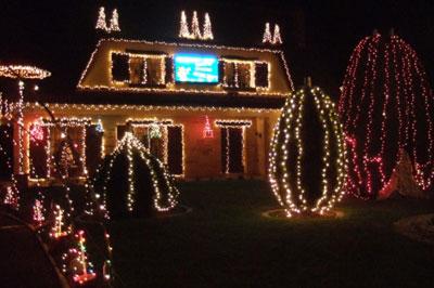Idee De Decoration Noel Exterieur Idee De Luminaire Et Lampe Maison