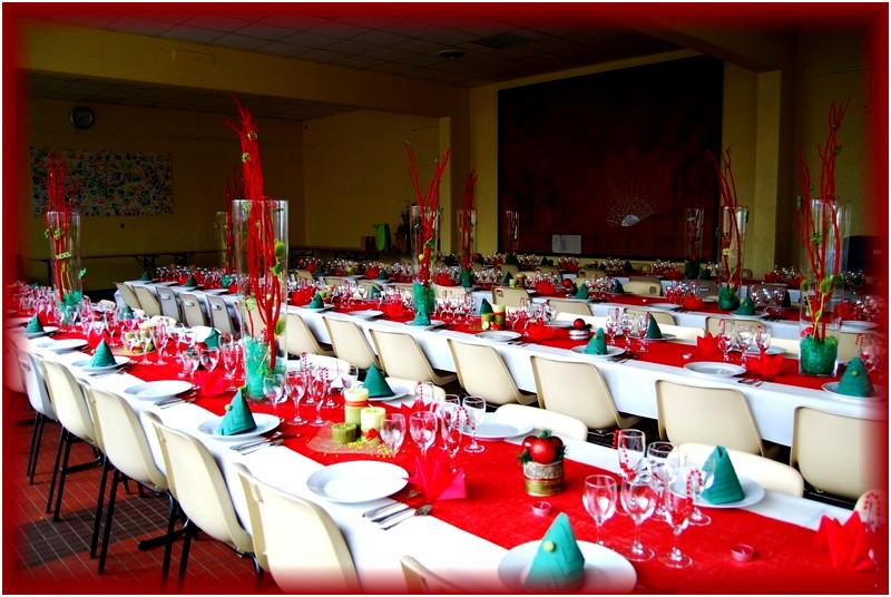 Deco Table Noel Vert Et Rouge Idee De Luminaire Et Lampe Maison