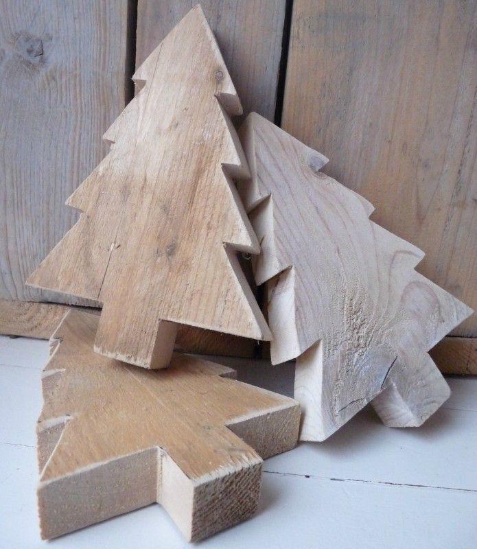 Decoration noel en bois a fabriquer