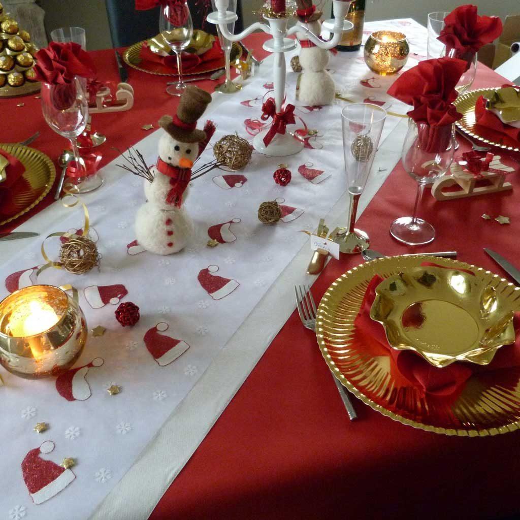 Decoration table de noel pas cher - Idee deco table pas cher ...
