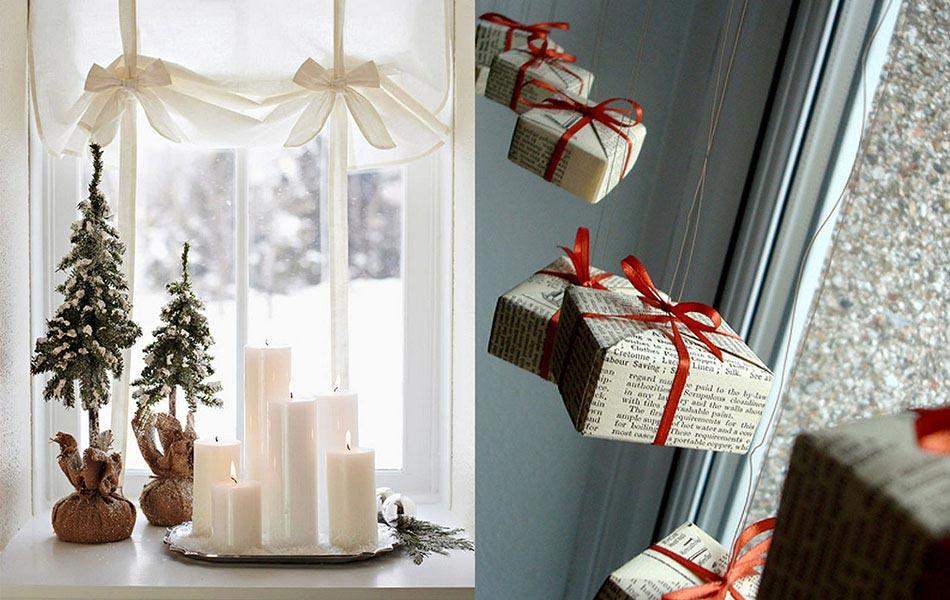 Noel decoration de fenetre