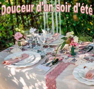 Decoration table de noel isambourg