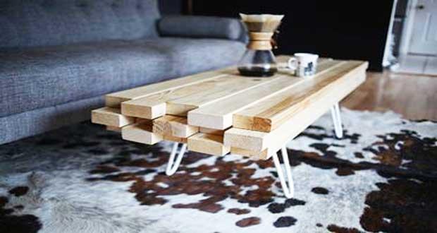 Deco noel table basse