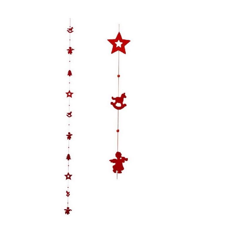 Guirlande noel rouge
