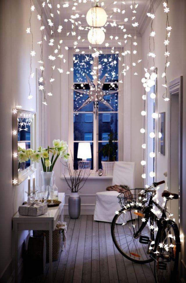 Guirlande lumineuse noel interieur