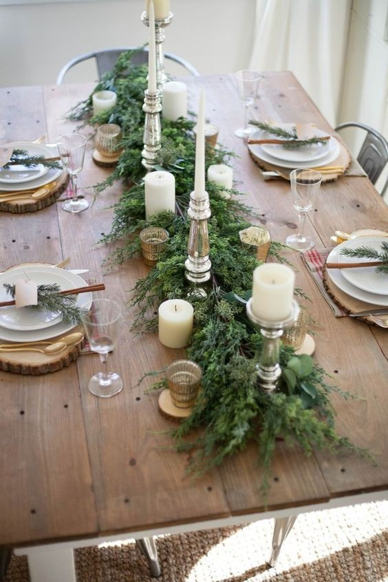 Dcoration Table De Nol Simple Ideas For Diy Christmas Party
