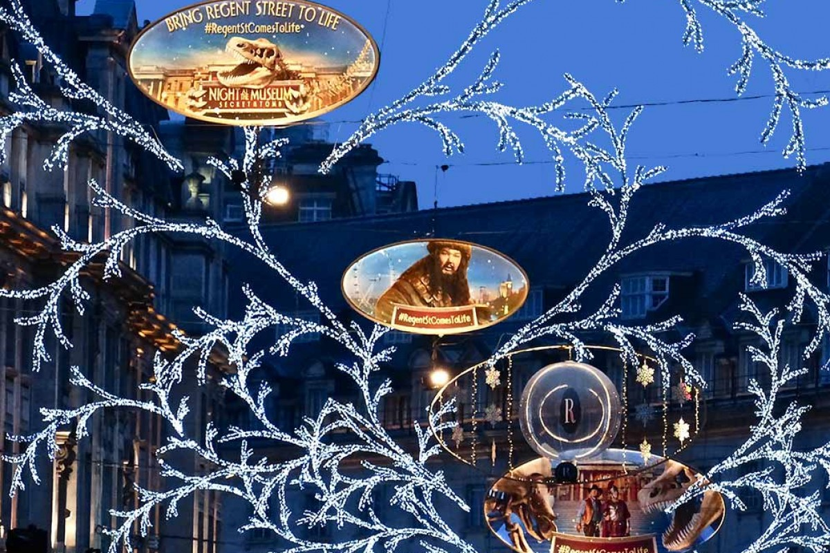 Illumination noel a londres