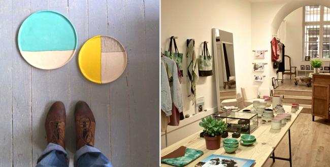 Boutique decoration noel lyon