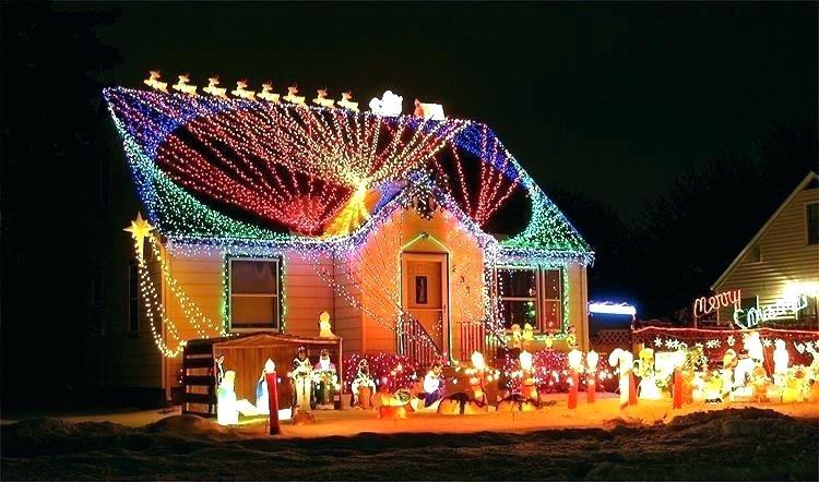 Decoration Noel Facade Maison Idee De Luminaire Et Lampe Maison