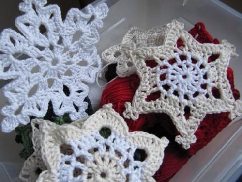 Decoration noel en crochet