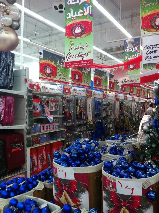 Decoration noel carrefour market