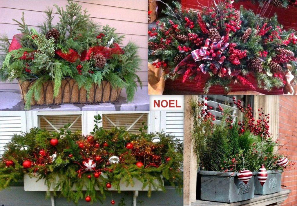 Decoration De Noel Pour Balcon