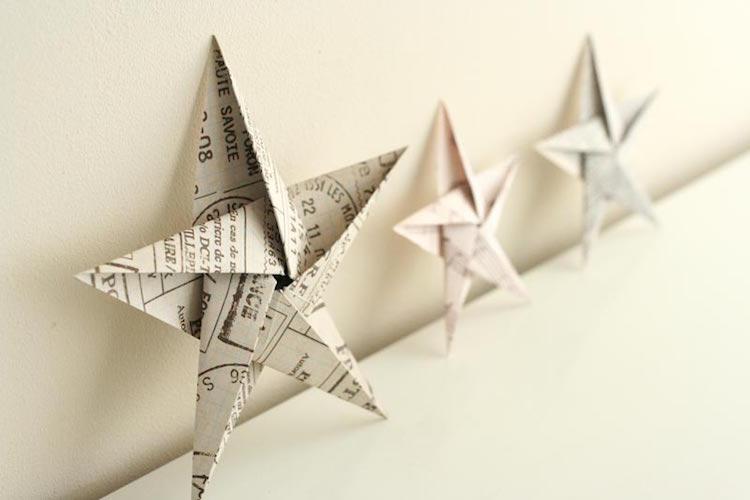 Decoration Noel En Papier Facile Idée De Luminaire Et Lampe Maison