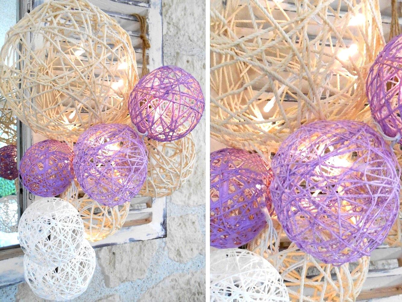 Boule de noel avec corde