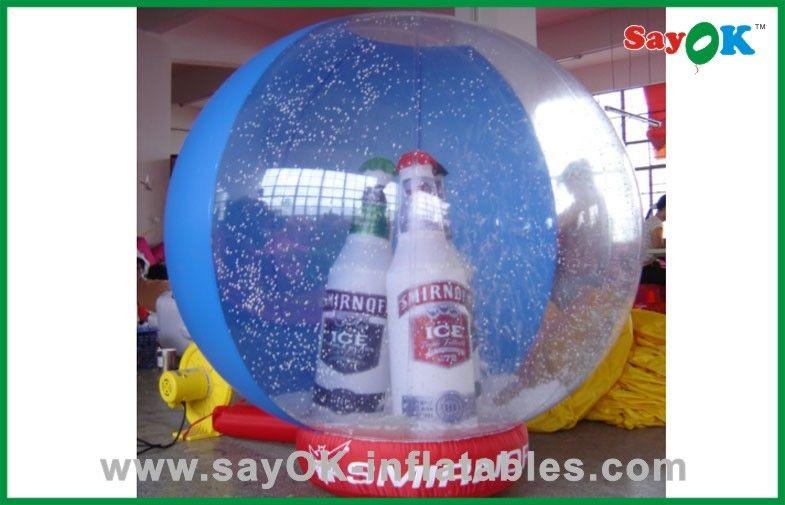 Boule de noel gonflable