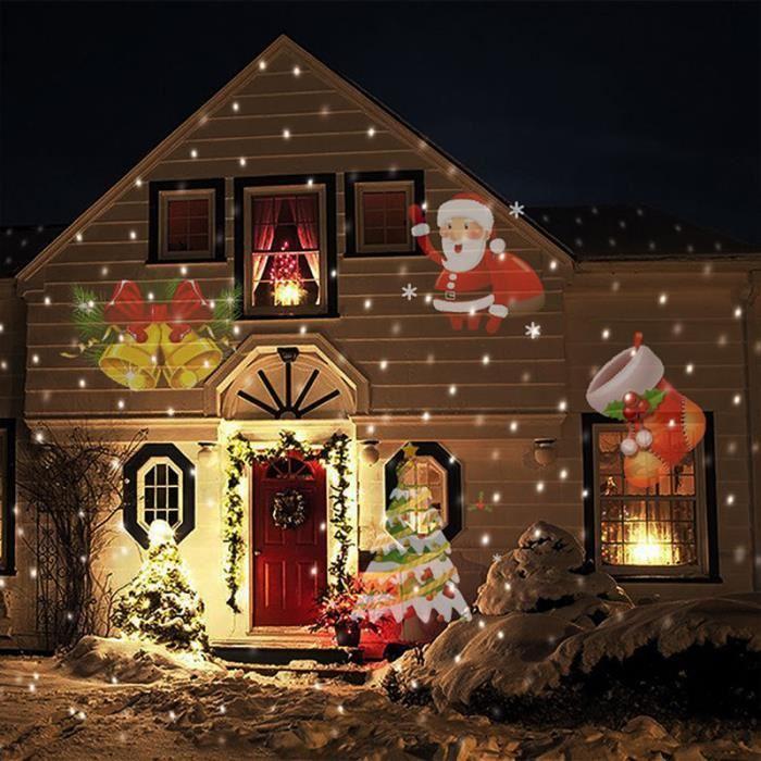 Decoration noel maison animee
