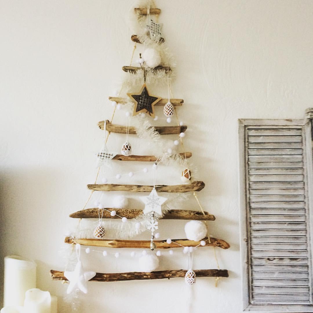 Deco de noel bois flotté - Idée de luminaire et lampe maison