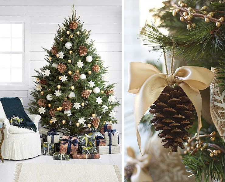 Deco sapin noel couture