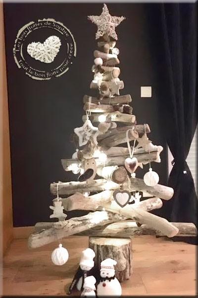 Decoration De Noel Bois Flotte Idee De Luminaire Et Lampe Maison