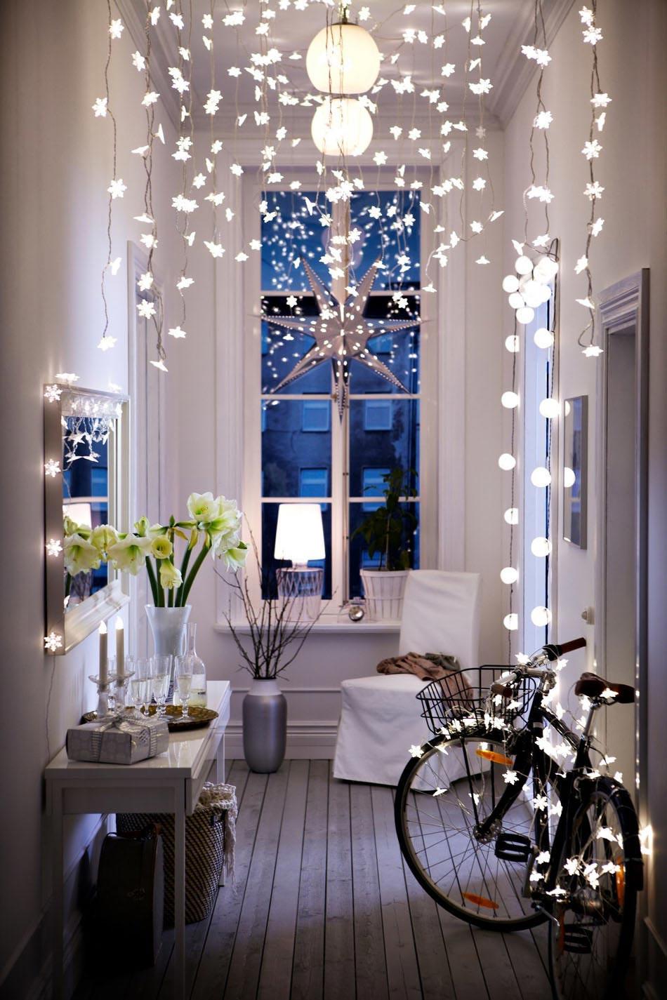 Deco noel interieur maison americaine - Idée de luminaire et lampe ...