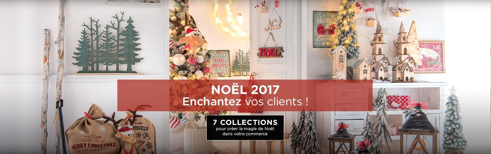 Decoration noel pour commerce