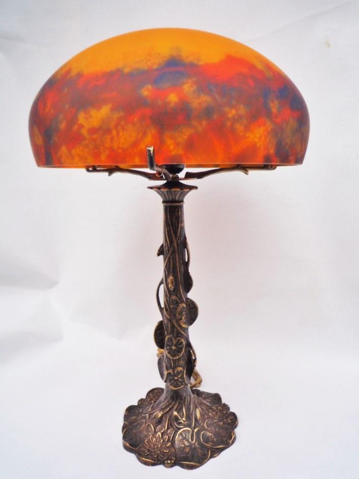 Lampe de chevet laiton massif