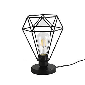 Lampe de chevet metallique