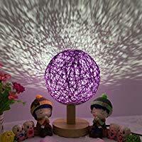 Lampe de chevet couleur lilas