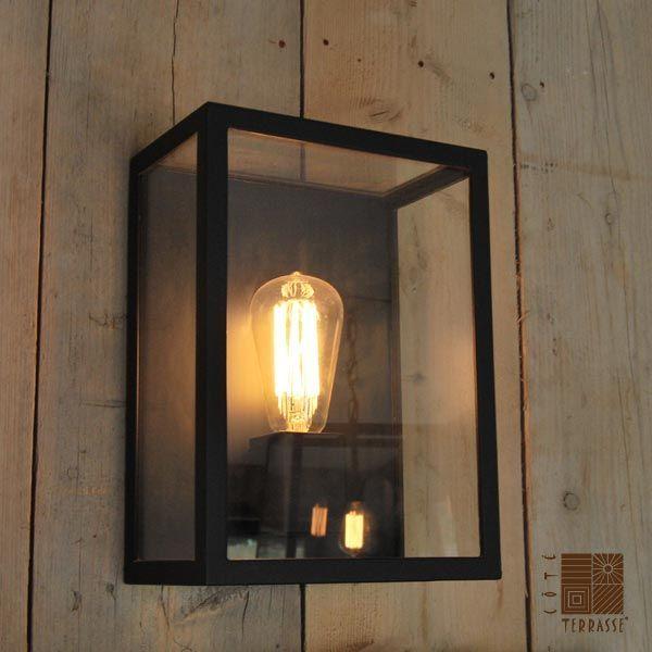 Lampe exterieur applique design