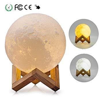 Lampe lune luna design