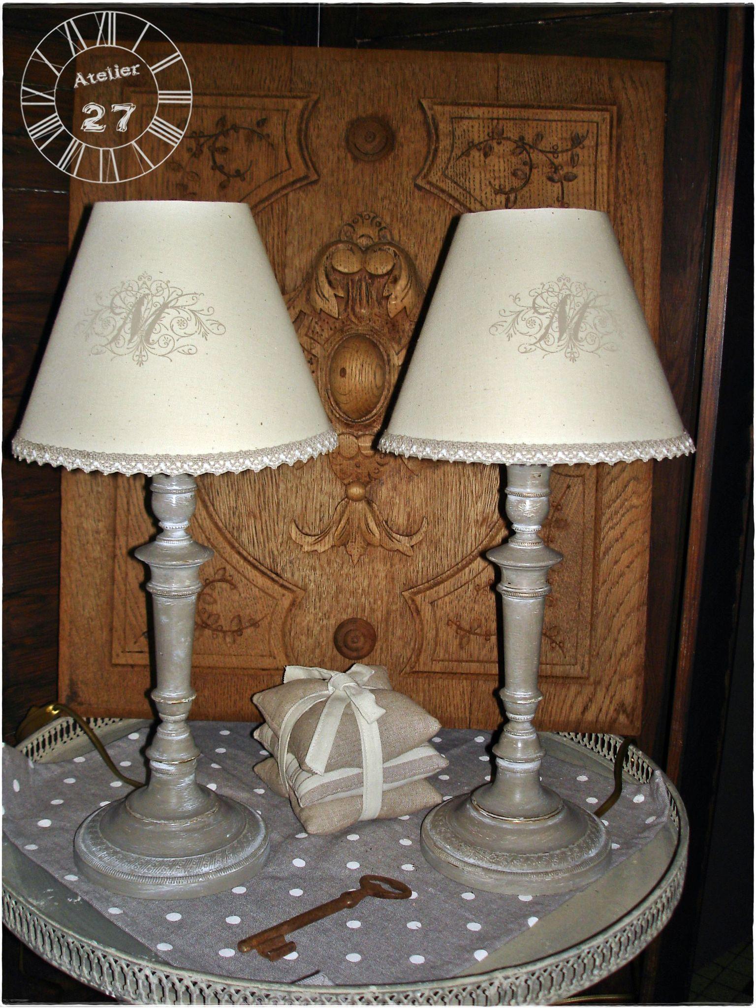 Lampe de chevet boudoir