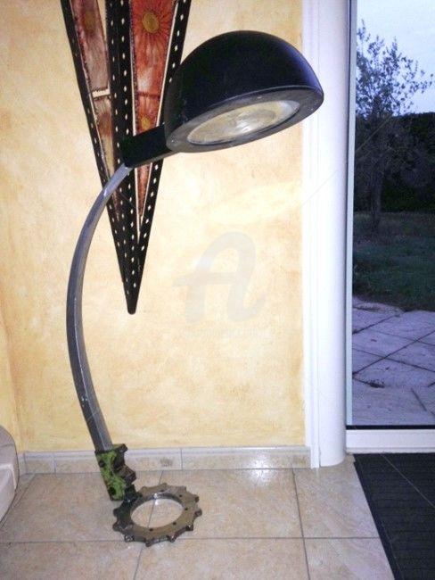 Lampe horloge design
