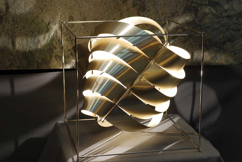 Lampe cube design