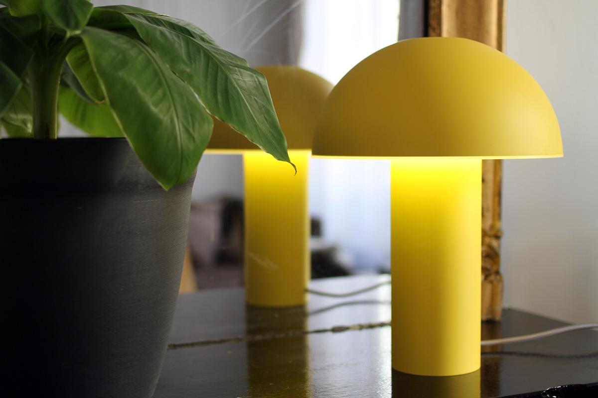 Et De Idée Maison Lampe Design Jaune Luminaire lKJF1c
