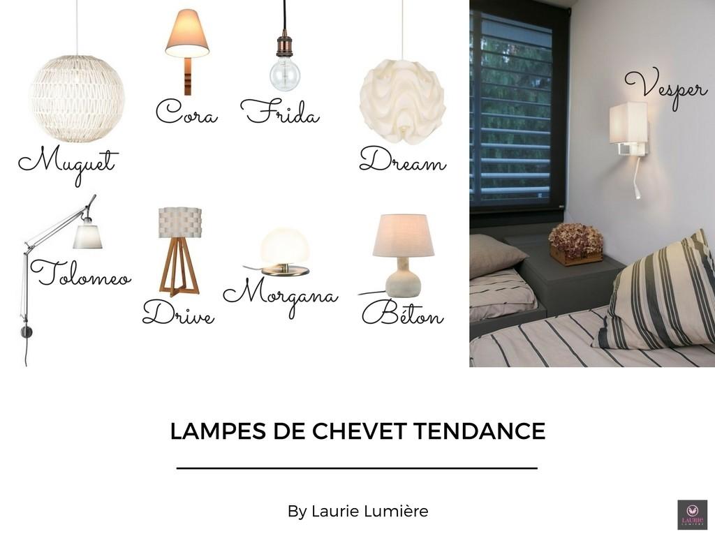 Lampe de chevet laurie lumiere