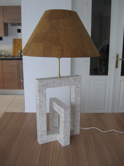 Lampe en carton design