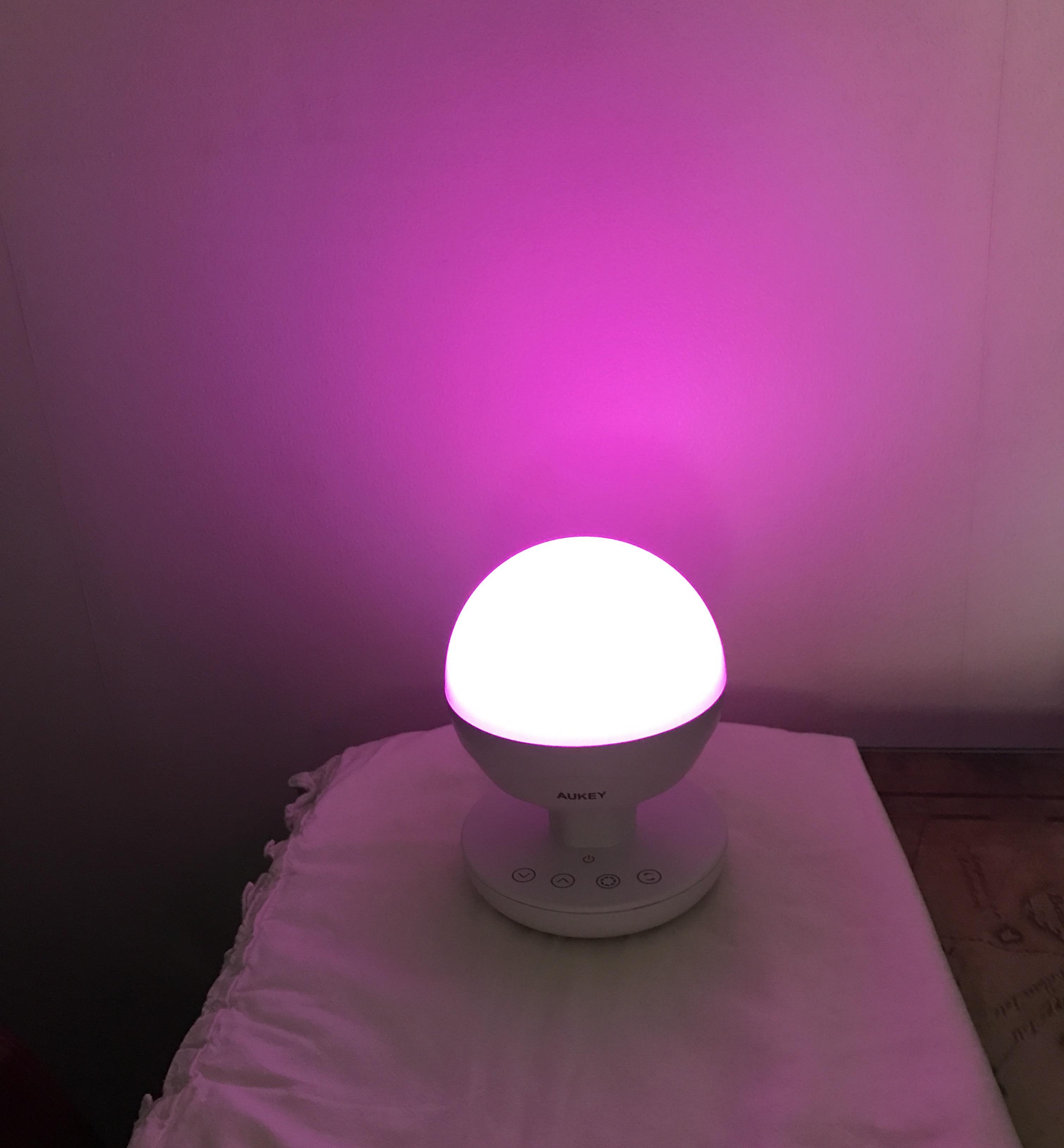 Lampe de chevet led multicolore