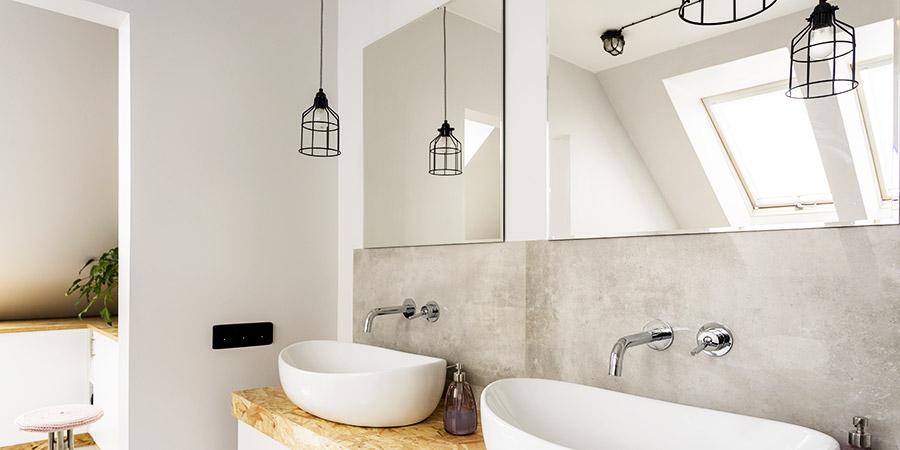 Lampe salle de bain design