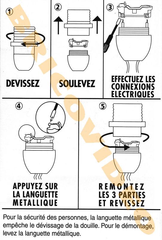 Et Idée Chevet Maison Changer Douille De Luminaire Lampe cAqj435RSL
