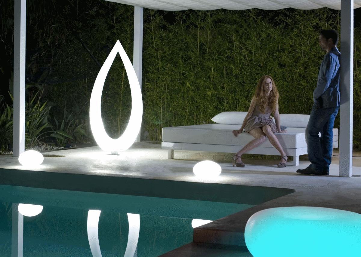 Lampe solaire d\'extérieur design - Idée de luminaire et ...