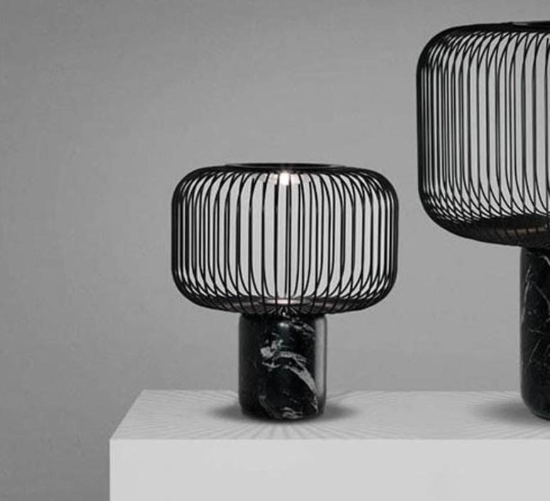 Lampe noire design