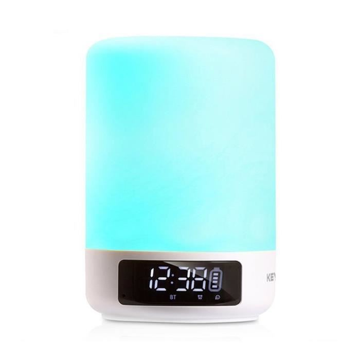 Lampe de chevet multicolore