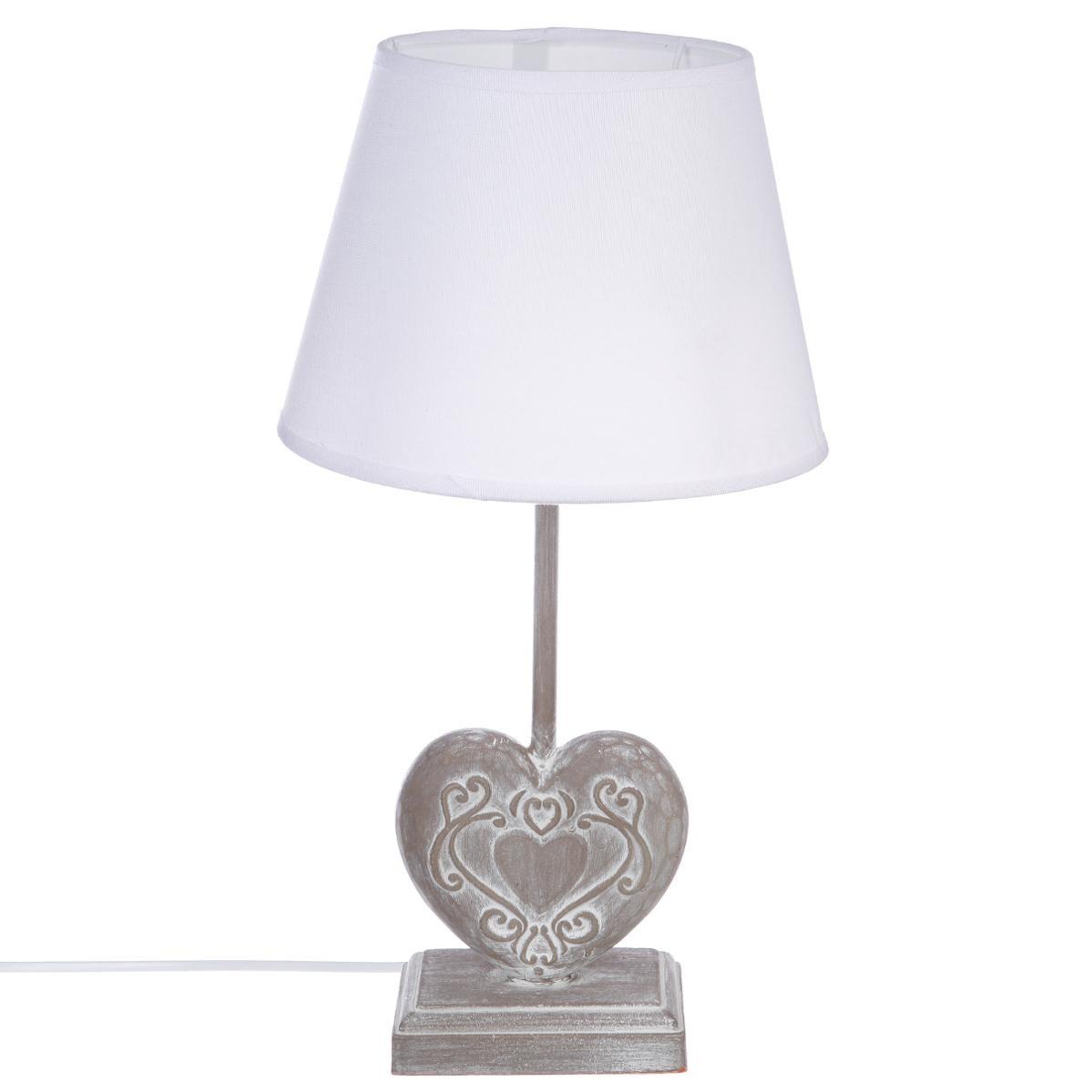 Lampe de chevet et lustre