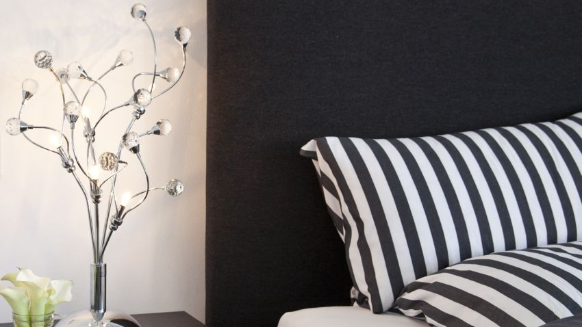 Lampe a poser boule design