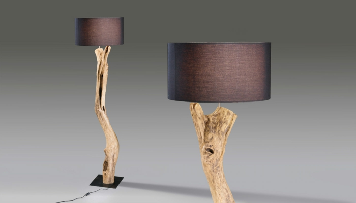 Fabriquer lampe de chevet bois