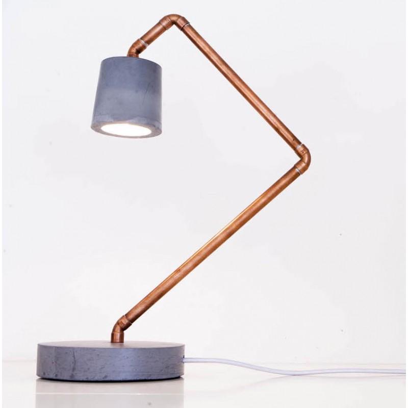 Pied Luminaire Maison Beton Idée Chevet Lampe Et De bf6y7g