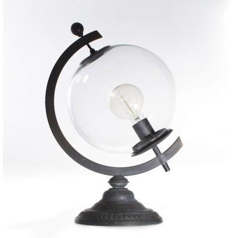 Lampe de chevet globe