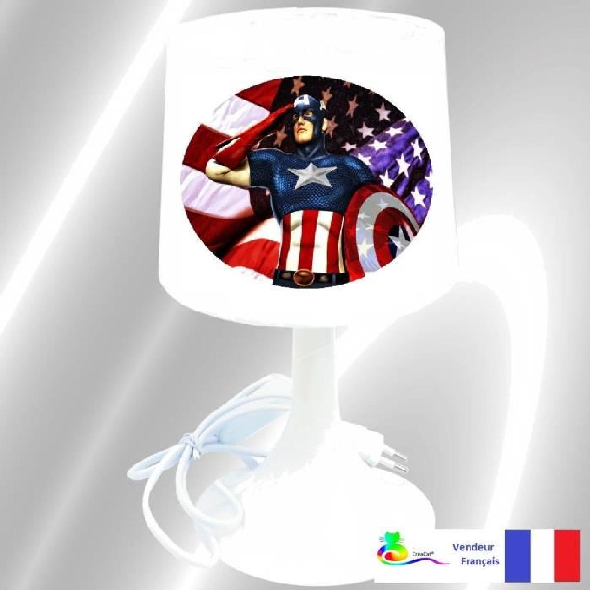 Chevet Lampe Luminaire De Avengers Et Maison Idée rBeWdoCx