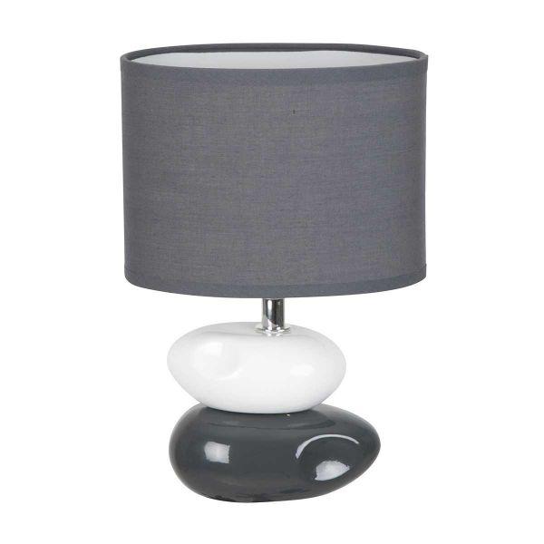 Lampe de chevet anthracite